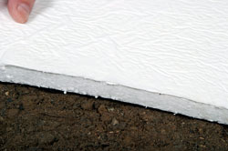 Crawl Space Floor Insulation Solution