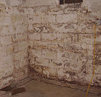 Peeling, Chipping, Basement Wall Coatings in Wheeling Valley