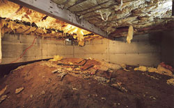 Crawl Space Vents in Massillon & Canton, OH cause major problems