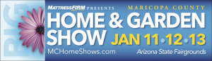 Welcome to the AZ State Fairgrounds for the Maricopa County Home Show this weekend. It's your chance to ASK THE...