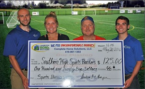 SHS Sports Boosters donation