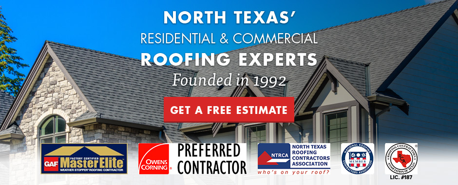 We are the Texas Roofing Experts!