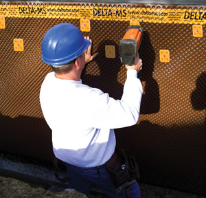 Delta-MS waterproofing membrane contractor in Winnipeg, MB