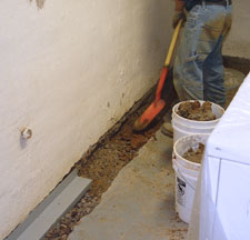 Sump Pump Drain Installation in Nunalla