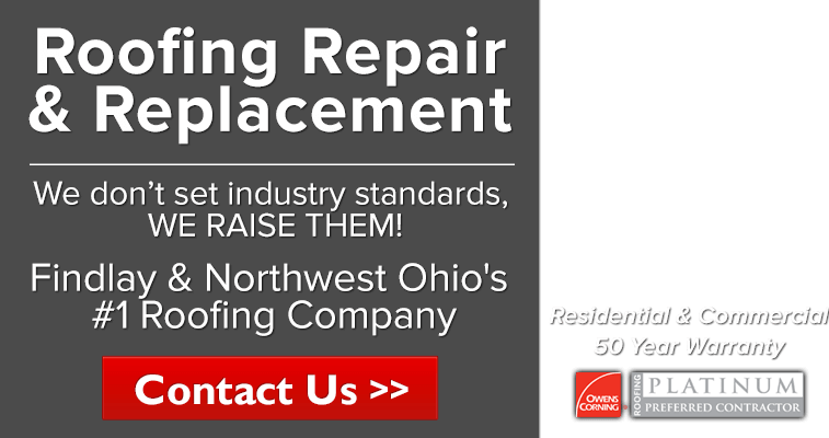 Roof Repair & Replacements in Findlay & Northwest Ohio by J. Alexander Roofing