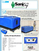 SaniDry™ CX Crawl Space & Basement Air System