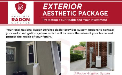 Radon Exterior Aesthetic Package