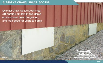 CleanSpace® EverLast™ Crawl Space Door