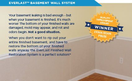 EverLast™ Finished Wall Restoration