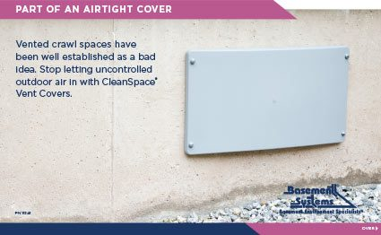 CleanSpace® Vent Covers