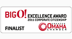 Omaha Chamber Excellence Award Finalist