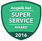 Angie's List Super Service Award | Thrasher