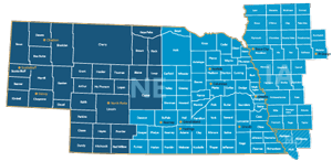 Our Nebraska, Iowa, and Missouri Service Area