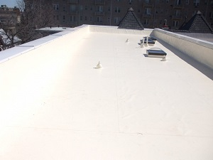 Residential and commercial flat roofs installed in Greater Washington D.C.