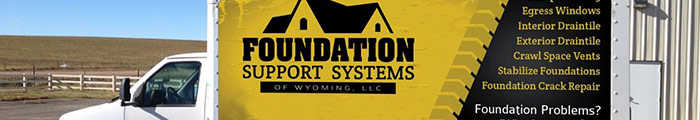 Foundation Support Systems of Wyoming serves Gillette, WY