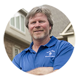 Bill Hawley owner of South Point Roofing & Construction