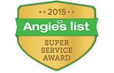 Xterior Solutions Angie's List Super Service Award 2015