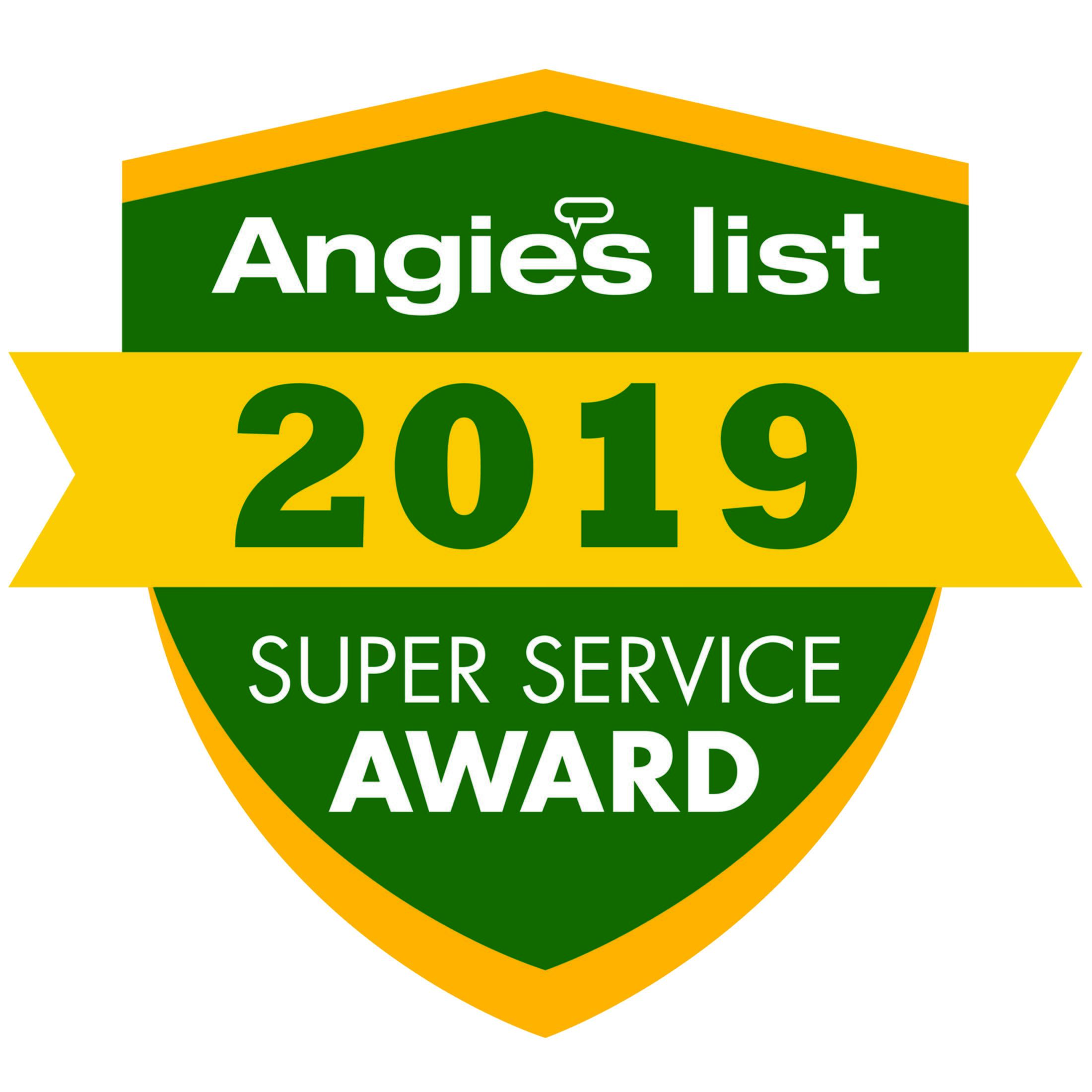 Xterior Solutions Angie's List Super Service Award 2019