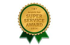 Xterior Solutions Angie's List Super Service Award 2014