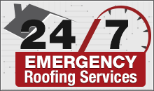 24/7 emergency roofing services by Xterior Solutions