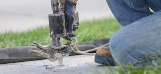 Concrete Leveling in Greater Houston