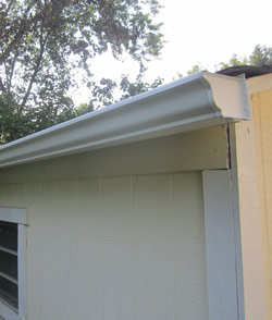 Custom gutters and downspouts installed in MN