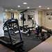 Remodeled basement with Exercise Room