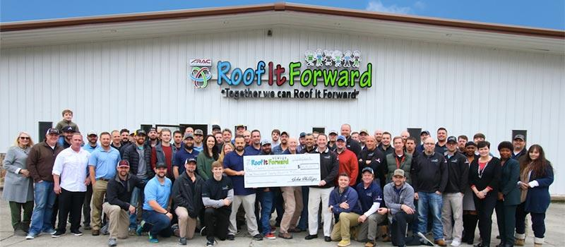 Roof It Forward team photo
