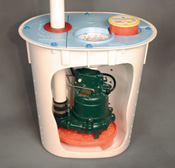 Crawl Space Sump Pump System