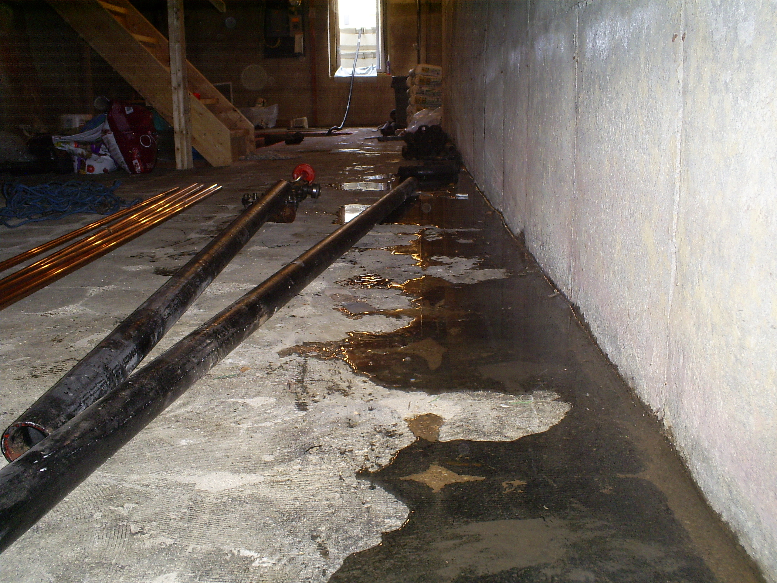 basement floor crack repair system in Illinois & Missouri