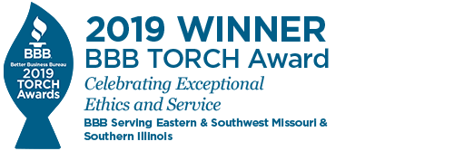 Winner of 2019 BBB TORCH Award