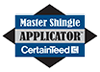 Master Shingle Applicator CertainTeed