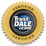 PGRS, Inc - Gutters is a TrustDale Certified Partner