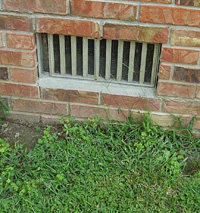Basement Vent and Rot