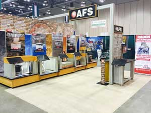 AFS booth at a home show