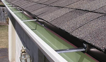 Aluminum gutters expertly installed in Greater Minneapolis