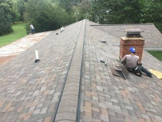 Ridge Vent Amp Roof Ventilation In Ohio Greater Cincinnati