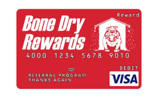 Bone Dry Rewards Visa Card