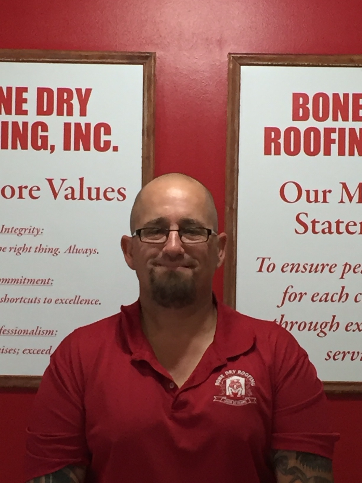 Steve Klosinski is the General Manager of Bone Dry Roofing