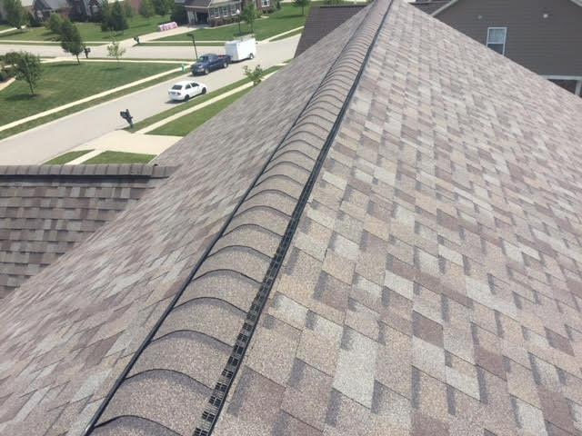 Ridge Vent Amp Roof Ventilation In Indiana Greater