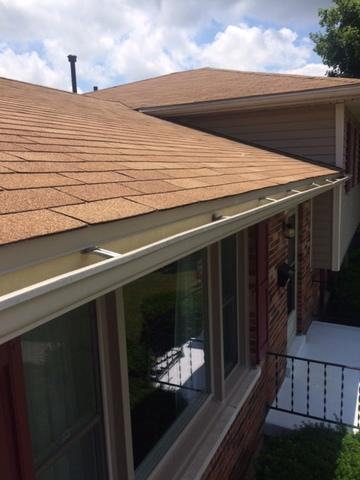 Aluminum gutters expertly installed in Greater Lexington
