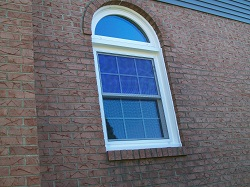 curved window