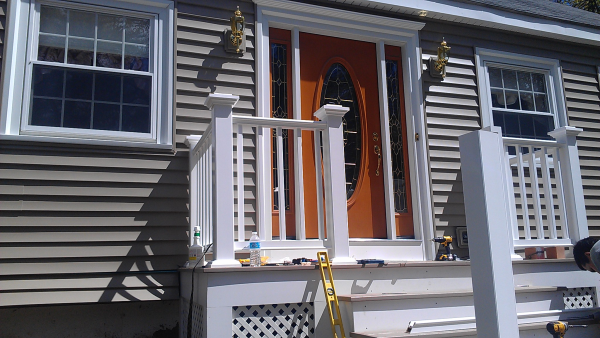 Last blog post, A&A Services was off Route 38 in Wilmington today installing vinyl siding and a and a new...