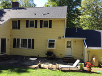 Roof we did in Boxford, MA