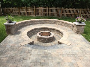 Fire pit in Missouri and Illinois
