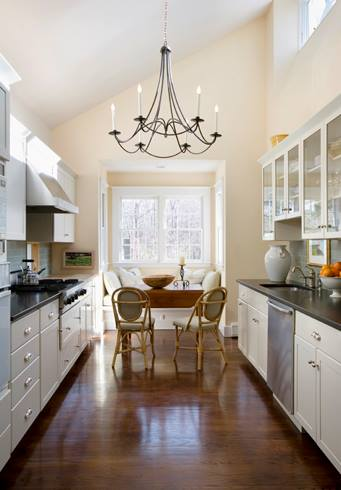 custom kitchen design in Auburndale, MA