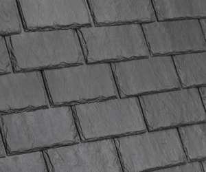 Single-width slate roof from Davinci Roofscapes