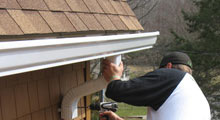 Gutter & Downspout Installation in Greater Huntingdon Valley