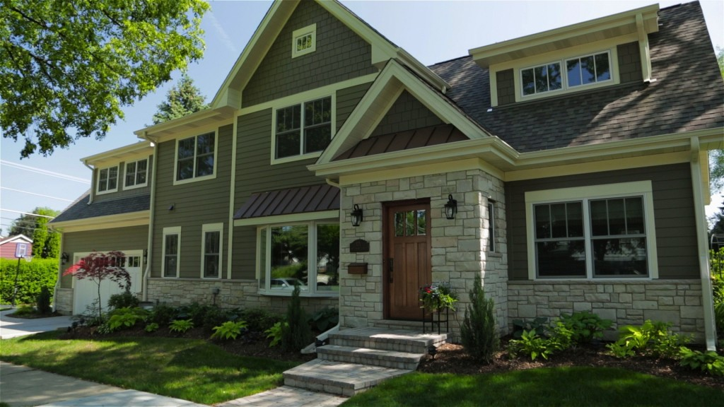 Beautiful home with James Hardie siding