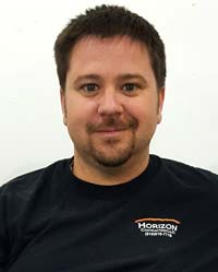 Adam Bradley, owner of Horizon Contracting LLC